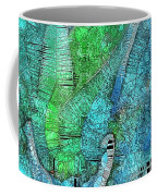 Stained Glass Agave Two  Coffee Mug