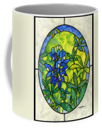 Stained Glass Bluebonnet Coffee Mug