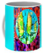 Stained Glass Candles Coffee Mug