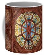 Stained Glass Ceiling Window Coffee Mug