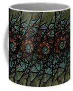 Stained Glass Floral I Coffee Mug