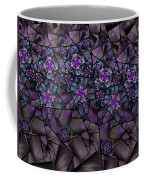 Stained Glass Floral II Coffee Mug