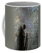 Stained Glass Illuminates Christ Coffee Mug