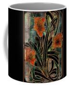 Stained Glass Parabolas Coffee Mug
