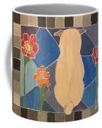 Stained Glass Pug Coffee Mug
