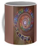 Stained Glass Spiral Coffee Mug