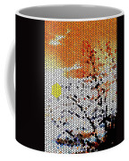 Stained Glass Sunset Coffee Mug