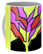 Tree - Stained Glass Watercolor Coffee Mug