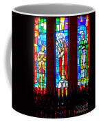 Stained Glass Triptych Coffee Mug