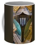 Stained Glass-window Reflection Coffee Mug