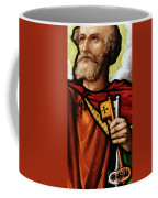 Stained Glass Window, St Peter Coffee Mug