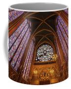 Windows Of Saint Chapelle Coffee Mug