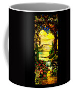 Stained Landscape Coffee Mug
