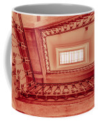 Staircase In Red Coffee Mug