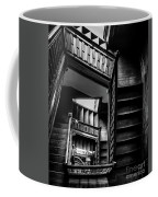 Staircase In Swannanoa Mansion Coffee Mug
