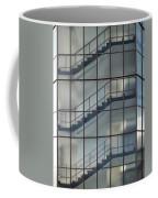 Stairs Behind Glass Coffee Mug