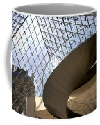 Stairs In Louvre Museum. Paris.  Coffee Mug