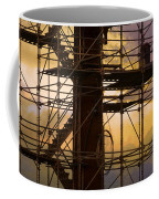 Stairs Lines And Color Abstract Photography Coffee Mug