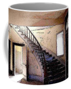 Stairway -  Meade Hotel - Bannack Mt Coffee Mug
