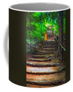 Stairway To Heaven Impasto Coffee Mug