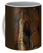 Stalacmites In Luray Caverns Va  Coffee Mug