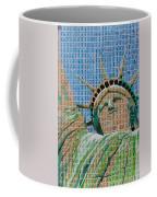 Stampue Of Liberty Coffee Mug