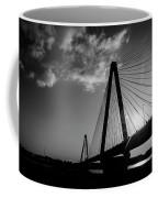 Stan Musial Bridge St Louis Mo Black And White_dsc4591_16_65 Coffee Mug