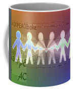 Stand Together In Peace Coffee Mug