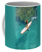 Stand Up Paddling II Coffee Mug