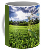 Standing Above The Crop Coffee Mug