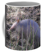 Standing Armadillo Coffee Mug