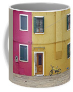 Standing By For A Quick Get Away In Burano Italy Coffee Mug