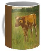 Standing Calf Coffee Mug