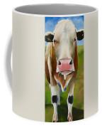 Standing In Field Coffee Mug