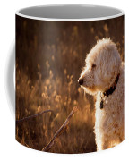 Standing In New Mexico's Golden Grass Coffee Mug