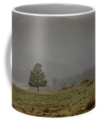 Standing In The Mist  Coffee Mug