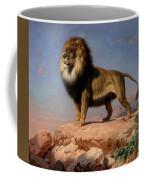 Standing Lion Coffee Mug