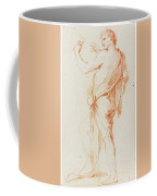 Standing Man In Profile To The Left Coffee Mug