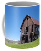 Standing Old Wooden Barn  Coffee Mug