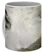 Standing On A Waterfall Coffee Mug