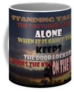Standing Tall Alone Coffee Mug