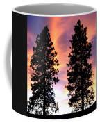 Standing Tall At Sundown Coffee Mug