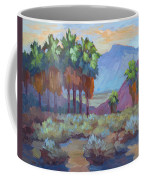 Standing Tall At Thousand Palms Coffee Mug