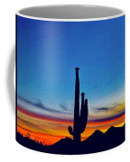 The Saguaro King Coffee Mug