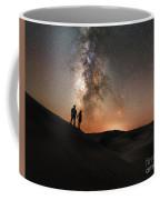Star Crossed Lovers At Night Coffee Mug