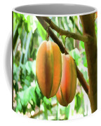 Star Fruit On The Tree Coffee Mug