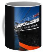 Star Of India Tall Ship San Diego Bay Coffee Mug