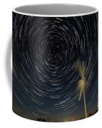 Star Trail In Hays, Ks Coffee Mug