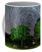 Star Trails At Sunken Meadow State Park Coffee Mug