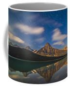 Star Trails Behind Mount Chephren Coffee Mug
